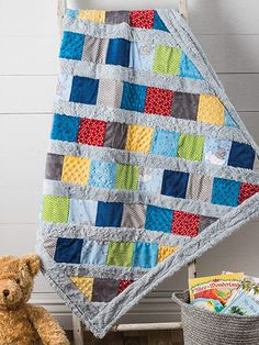 Cuddle & Snuggle Quilt Pattern from Annie's Craft Store