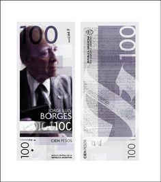 Jorge Luis Borges. Escritor, candidato al Nobel de Literatura sin nunca haberlo ganado, uno de los pilares de la literatura universal del siglo XX.