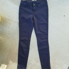 Rich & Skinny - Skinny Jeans These skinnies are a slate gray/blue-ish color denim.  Snug fit, streamlined.   I love love love! these, but I'm sadly parting with my many pairs of size 26's.   Size: 26  Only worn a couple times, washed cold and hung to dry. Rich & Skinny Jeans Skinny