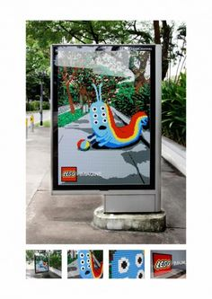 Con #lego la realidad es más divertida #publicidad