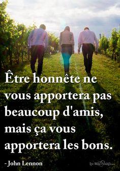 Citation Être honnête #citation #citationdujour #proverbe #quote #frenchquote #pensées #phrases #french #français