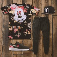 Blossom into fall fashion with the Disney x Neff outfit inspo