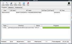 Ophcrack to pogram do łamania haseł w systemie operacyjnym Windows XP VIsta i Windows 7. Tak naprawdę jest to system operacyjny Live CD, który można uruchomić z płyty kompaktowej lub pendrive bez instalacji go na dysku. Inne ciekawe systemy operacyjne dla hakerów możecie znaleźć w wpisie: http://haker.edu.pl/2013/11/19/47-dystrybucji-linux-dla-hakerow-spis/  #linux, #ophcrack, #windows