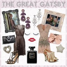 Prom Inspiration: The Great Gatsby #dress #1920s #polyvore #vivadressup