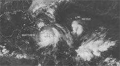Se forma tormenta tropical Nicole, decimocuarta de la temporada