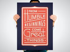 21 Motivational Posters You'll Actually Want in Your Office via Brit + Co. (Check out the Manifesto as option #6!)