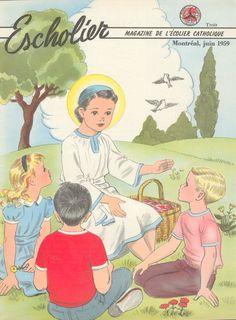 L'Escholier, le magazine de l'écolier catholique.
