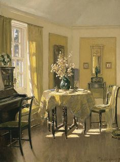Patrick William Adam 'The Study, Ardilea, North Berwick' Scotland 1917 by Plum leaves, via Flickr