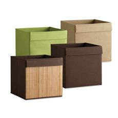 Real Simple Fabric Drawers, $6.99 and up. Compatible with all Real Simple storage units.