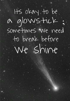 Glowsticks... :-)
