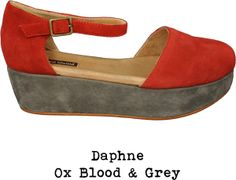 Geé WaWa - Daphne in oxblood and gray
