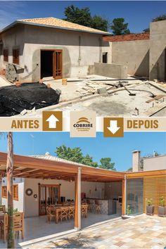 Terrace Design, Roof Design, Patio Design, Exterior Design, Village House Design, Bungalow House Design, Village Houses, Mexican Home Decor, Home Room Design
