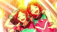 Aoi Yuta and Aoi Hinata Art Poses, Ensemble Stars, Kawaii Cute, Hinata, Pikachu, Anime Art, Twins, Idol, Animation