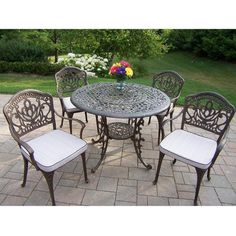 Mississippi Cast Aluminum Outdoor Rocking Chair 2 piece Set  Grey    Products  Outdoor rocking chairs and BrownMississippi Cast Aluminum Outdoor Rocking Chair 2 piece Set  Grey  . Oakland Living Mississippi Patio Rocking Chair. Home Design Ideas