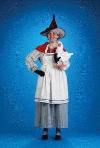 Fairy Tale - Mother Goose Adult Halloween Costume Size 12-14 Large Peter Alan, Inc - Costume Mates,http://www.amazon.com/dp/B001CJY6S0/ref=cm_sw_r_pi_dp_bDVasb1FQZF9C9VX