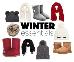 """Some Cute Winter Essentials"" by rosegirlxox on Polyvore featuring UGG Australia, UGG, David & Young, Brunello Cucinelli, House of Lafayette, Kate Spade and Vivienne Westwood"