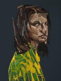 Erik Olson, Matt, 2012, oil on canvas,  48 x 36 inches