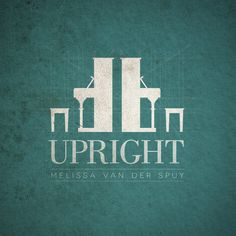 Upright Album Cover by Amy-Jean Prentice, via Behance
