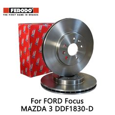 Ferodo Vauxhall Astra 2.0 Brake Discs Coated Pair Front Replace System