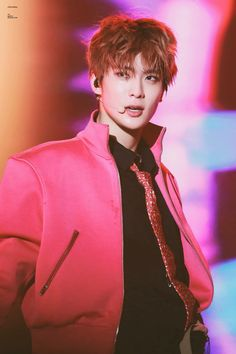 jaehyun in pink is totally a freaking concept Nct Yuta, Wallpaper Collection, Yugyeom, Got7, Johnny Seo, Latest Wallpapers, Jung Yoon, Valentines For Boys, Entertainment