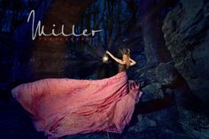 Senior Portraits,Miller Photography Middle TN Senior Photography, Parachute Dress Session, Natural Bridge, Sewanee, TN.