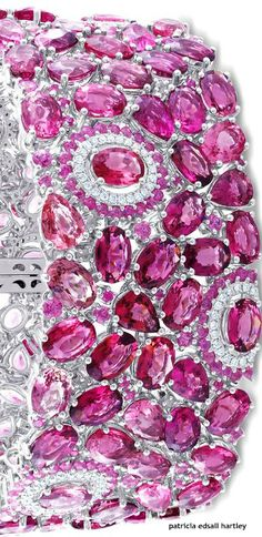 Amour Diamond & Pink Sapphire Bracelet