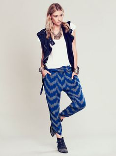 Free People Black Pearl Pants at Free People Clothing Boutique