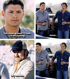 Damn right he's adorable!!! Dean ♡♥♡