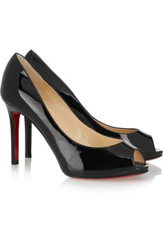 Christian Louboutin flo 100 patent-leather pumps £525
