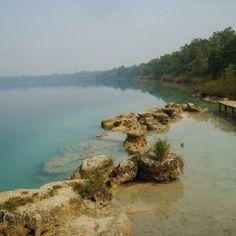 Laguna Lachuá. Chisec, Alta Verapaz, Guatemala.