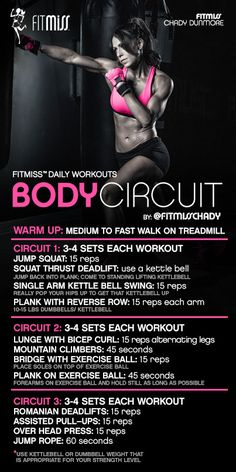 FitMiss Body Circuit Workout