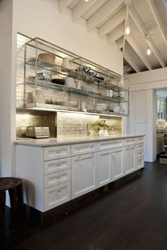 Restaurant Kitchen Shelving i love the industrial chic stainless shelves kind of like a