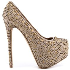 4483bc4287a 205 Best Gold Heels images   Gold heels, Women shoes heels, Womens ...