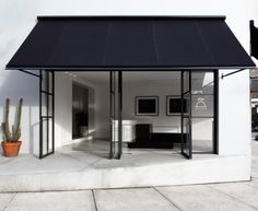 Tamsin Johnson | Black awning