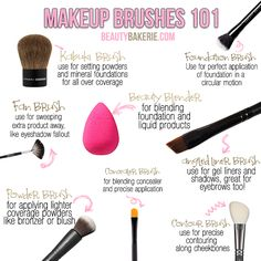 1000 images about makeup on pinterest  face brushes