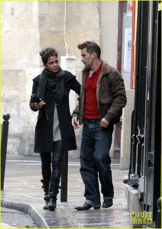 Halle Berry & Olivier Martinez Continue Their Paris Vacation!