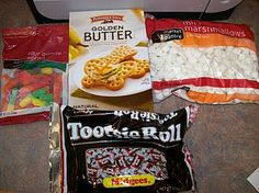 Edible Butterfly Life cycle snack idea  This is great!