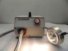 Techniquip-FOI-150-150Watt-Fiber-Optic-Illuminator-w-Ring-Light