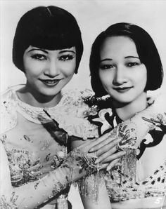 Anna May Wong and sister Lulu