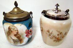 Antique biscuit jars
