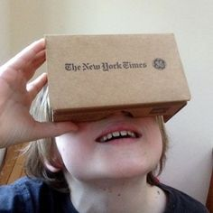 Google Cardboard is a low-cost virtual reality headset that works with mobile phones to bring immersive virtual reality field trips to any classroom.