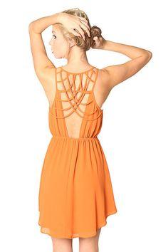 Savoir-Faire : Light a Fire Dress
