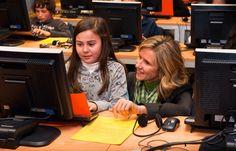 La Ministra de Ciencia, Innovación y Tecnología, Cristina Garmendia, visita el CITA.