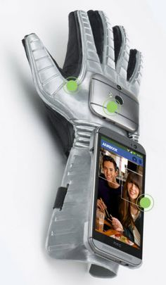 HTC Gluuv, a new wearable glove technology from HTC