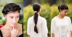 Braids for long hair that you can easily replicate! These beautiful braids work for special occasions from date nights to special celebrations!