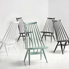 Mademoiselle chairs by Artek.