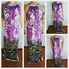 Vestido Envelope Longo #naturofloreser #alternativeclothing #modaalternativa #modafeminina #womenswear #dress #vestido