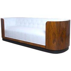 Danish Art Deco Rosewood Sofa 1