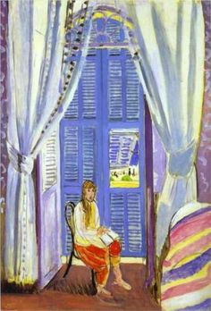 The French Window at Nice  - Henri Matisse - 1919 ................#GT