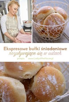 Przepis na ekspresowe bułki śniadanioweLady of the House | Lady of the House Hamburger, House, Bread, Food And Drink, Lady, Drinks, Drinking, Haus, Hamburgers